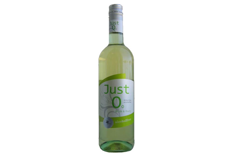 Безалкогольное вино белое полусладкое JUST 0 (Джаст Зеро) Германия