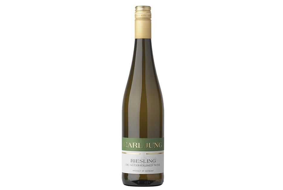 Безалкогольное вино Carl Jung Riesling тихое белое 0,75