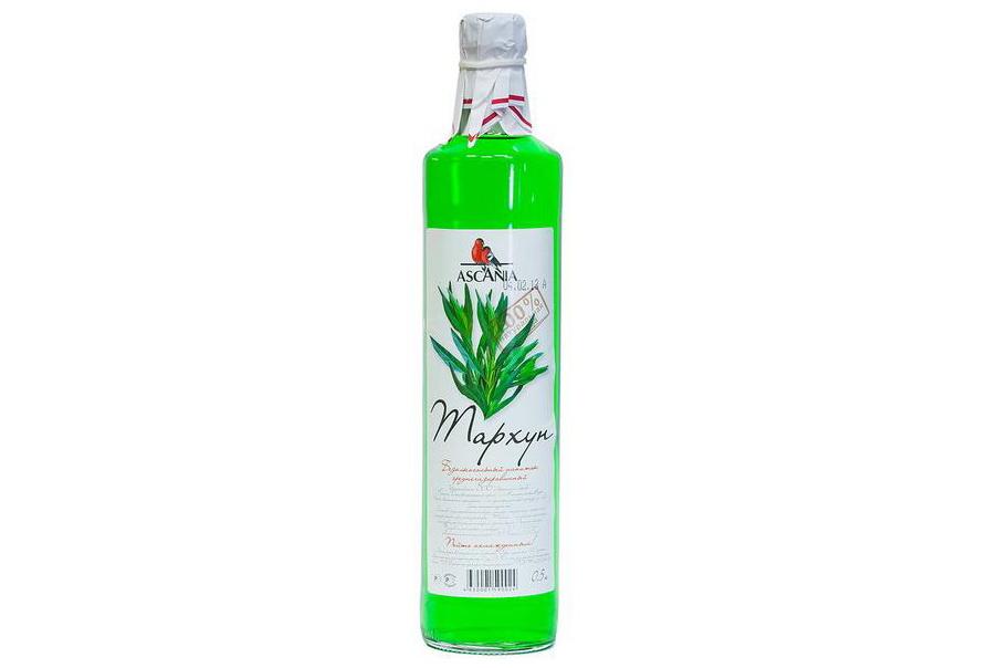 Напиток безалкогольный Тархун купить среднегазированный с натуральным соком Аскания с доставкой