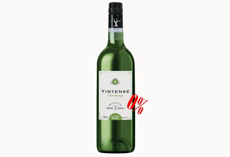 Безалкогольное белое вино Шардоне Винтенс полусладкое