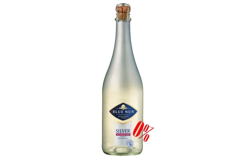 Шампанское безалкогольное белое Blue Nun (Блу Нун) полусладкое