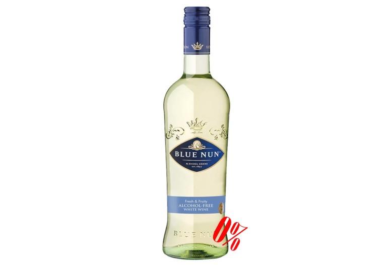 Вино безалкогольное белое Blue Nun (Блу Нун) полусладкое