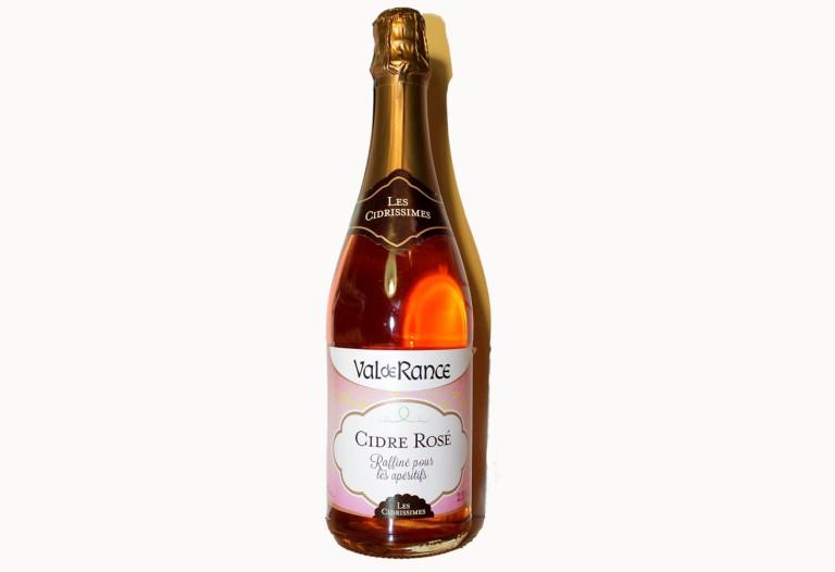 Французский розовый сидр 2,5% полусладкий Val de Rance