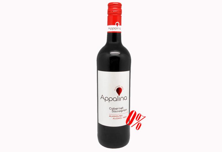 Купить Безалкогольное вино Каберне Совиньон красное полусладкое Appalina