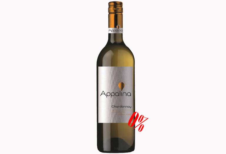 Безалкогольное вино Шардоне белое полусладкое Appalina