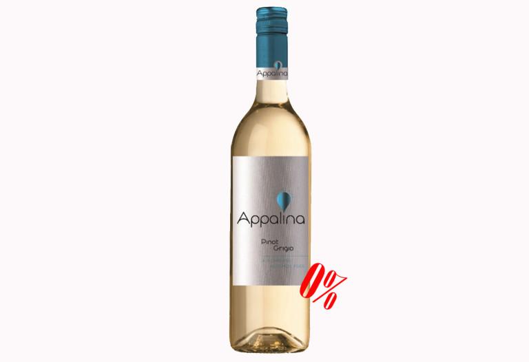 Купить Безалкогольное вино Пино Гриджио белое полусладкое Appalina