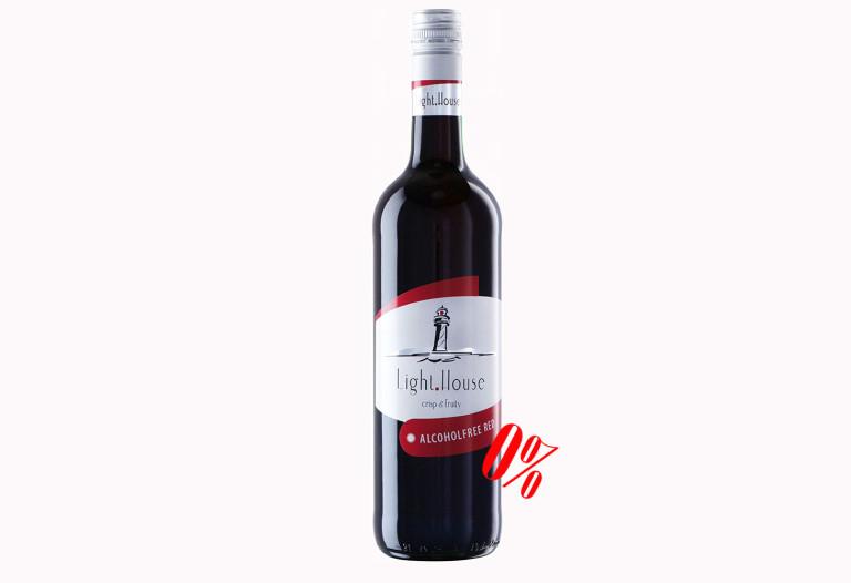 Купить красное безалкогольное вино Light House Peter Mertes полусладкое