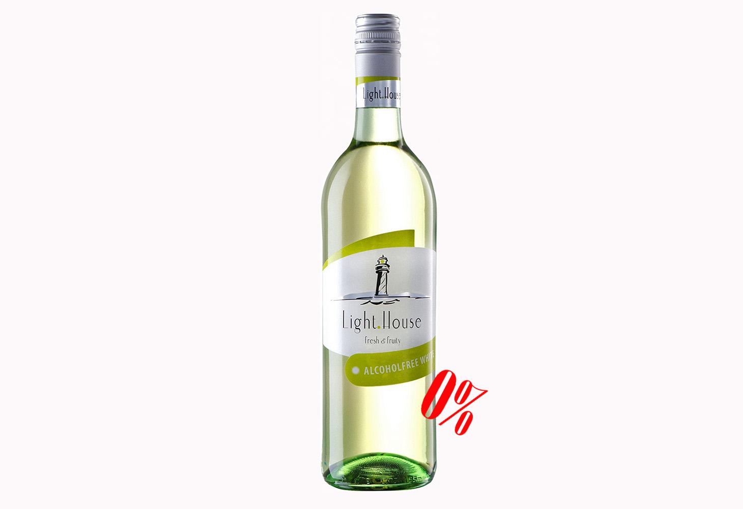 Купить белое безалкогольное вино Light House Peter Mertes полусладкое