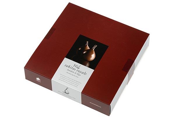 Конфеты инжир в шоколаде Rabitos Royale 16 шт