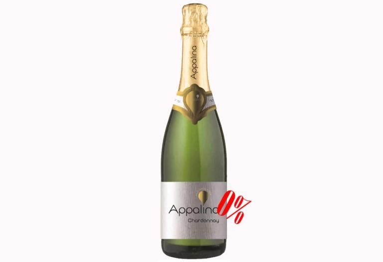 Купить Безалкогольное шампанское Шардоне белое полусладкое Appalina