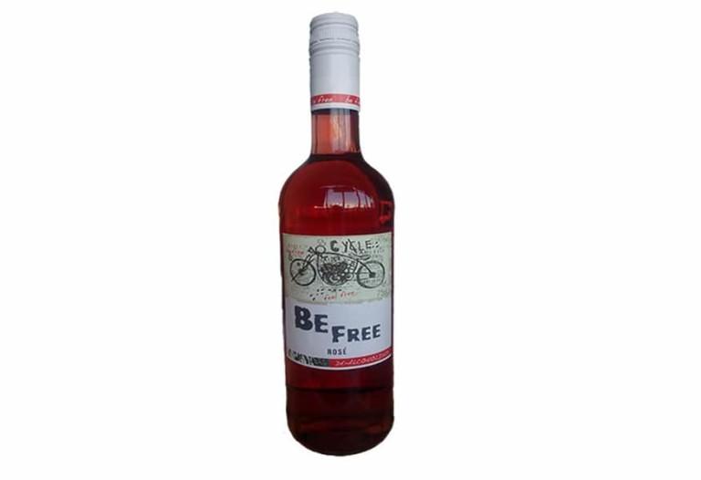 Купить безалкогольное вино розовое Be Free Питер Мертес