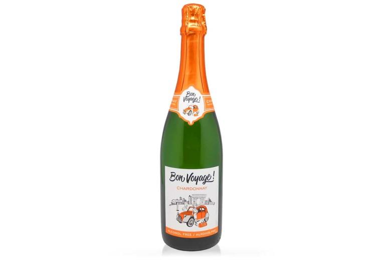 Белое безалкогольное шампанское сорта Шардоне французский стиль, производства Германия, купить с доставкой по Украине, доступная цена