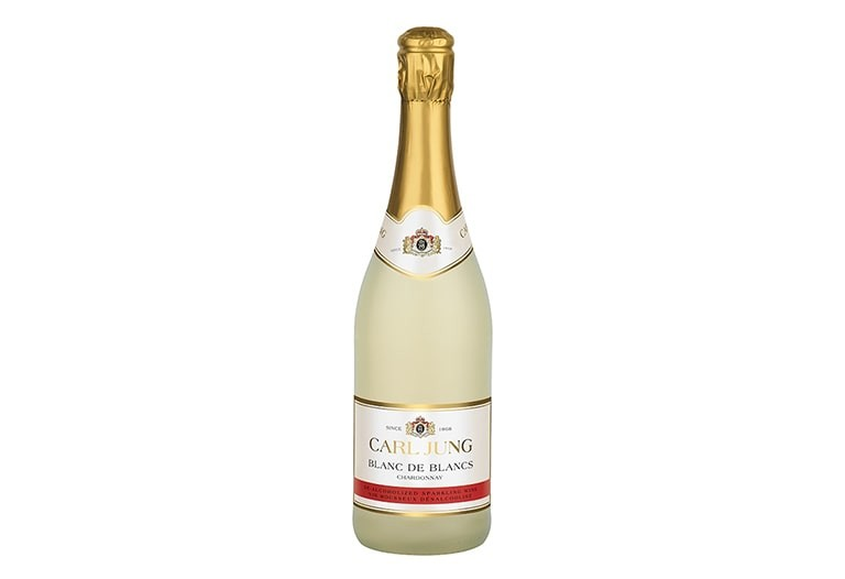Купить Безалкогольное шампанское Blanc de Blancs Sparkling Chardonnay Carl Jung (блан де бланш игристое шардоне Карл Юнг)