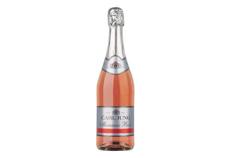 Купить Безалкогольное шампанское Rosé Sparkling Carl Jung / Игристое розовое Карл Юнг полусухое