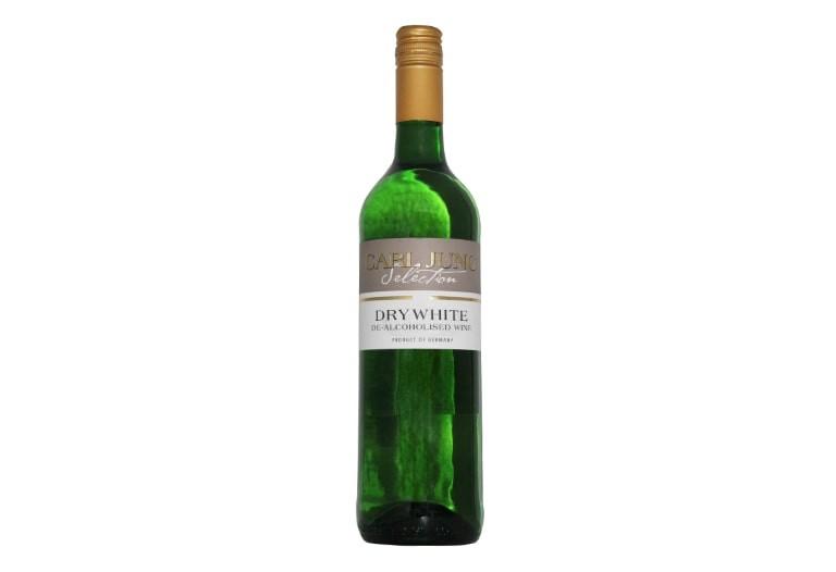 Купить сухое безалкогольное вино белое Carl Jung White dry